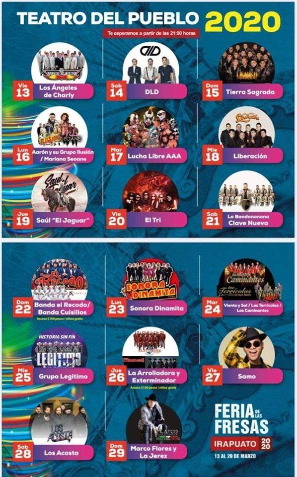Teatro del Pueblo Feria de Irapuato 2020