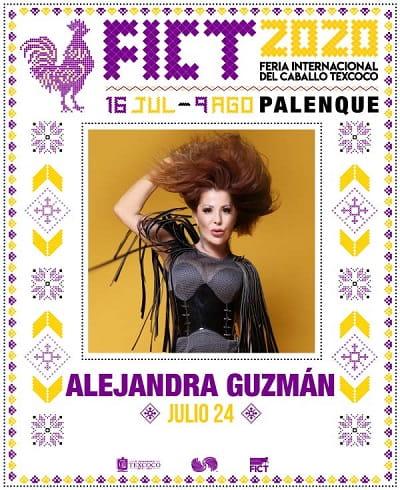 Alejandra Guzman en el Palenque Texcoco 2020